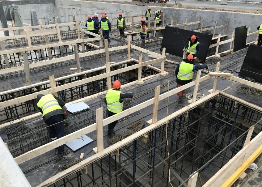 Заказать работы по бетону цена бетона в7 5 в москве